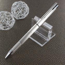 "Stylo LAMY ""Logo Twin Pen"" Multi-Fonctions Mat Brossé (Bille noire et mine 0,5)"