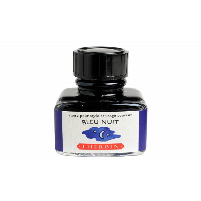 Flacon d'encre J. Herbin® Bleu Nuit 30 ml