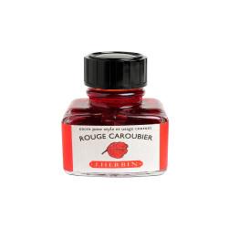 Flacon d'encre J. Herbin® Rouge Caroubier 30 ml