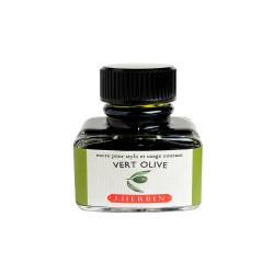 Flacon d'encre Vert Olive 30 ml J. Herbin®