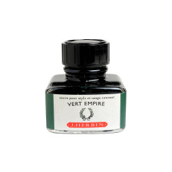 Flacon d'encre J. Herbin® Vert Empire 30 ml