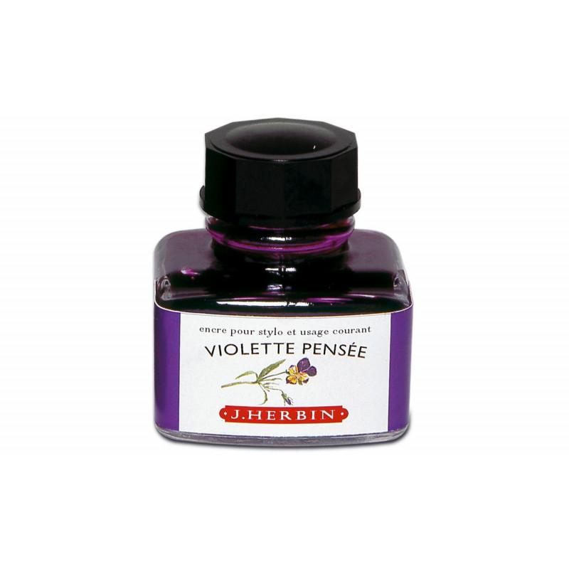 Flacon d'encre J. Herbin® Violette Pensée 30 ml