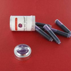 Cartouches d'encre J. Herbin® Larmes de Cassis Boite de 6