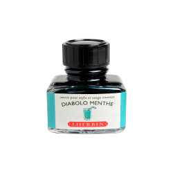 Flacon d'encre J. Herbin® Diabolo Menthe 30 ml