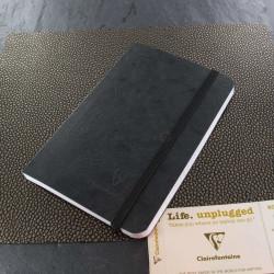 Carnet Petit Format Clairefontaine® Roadbook Noir