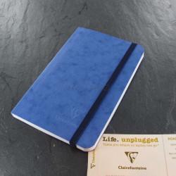 Carnet Petit Format Clairefontaine® Roadbook Bleu Océan