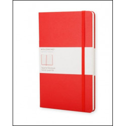 Carnet Moleskine® Rouge Pocket Quadrillé