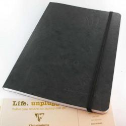 Carnet Demi Format Clairefontaine® Age Bag Noir