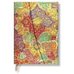 Carnet Paperblanks® Fleur Sauvage Bavaroise Midi Ligné