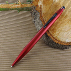 Stylo Bille et Stylet Cross® Tech2 Rouge Métallique