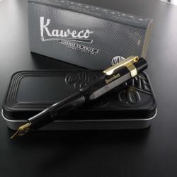 Coffret Stylo Plume Kaweco® Classic Sport Noir doré à l'or 23 carrats
