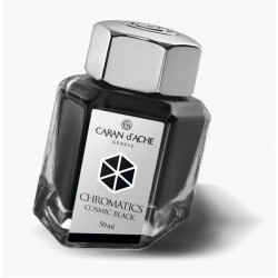 Encrier Caran D'Ache® 50ml Noir Cosmic