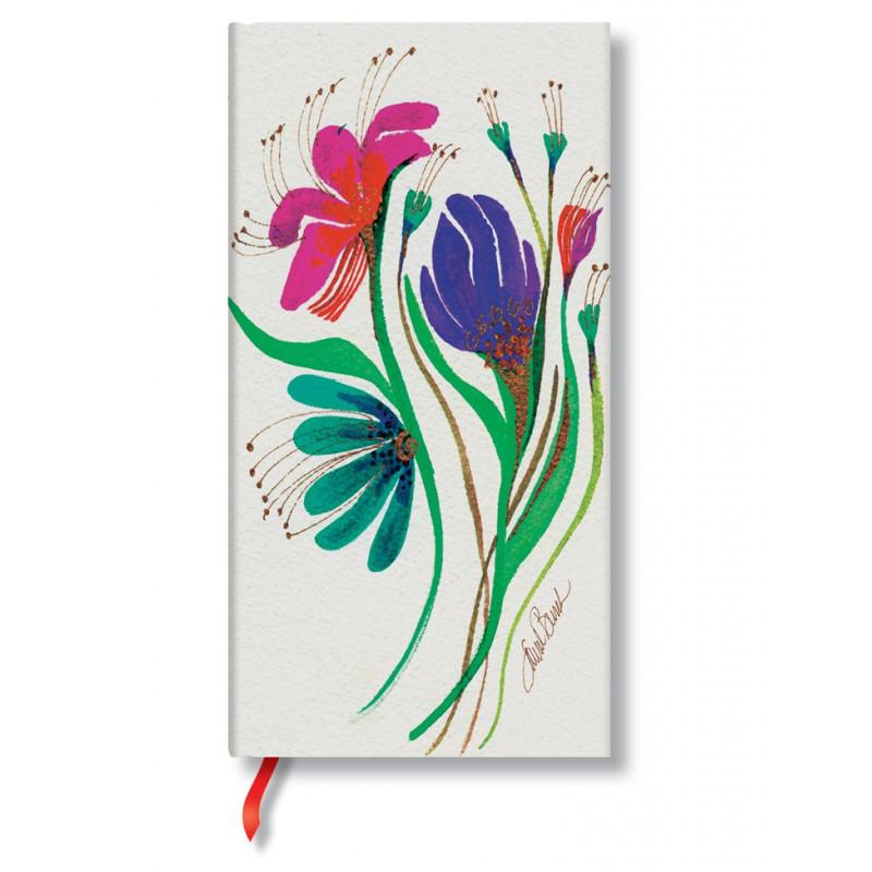 Carnet Paperblanks® Fleur du Vent Slim Ligné