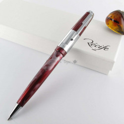 Stylo Bille Recife® Amber Reporter Rouge