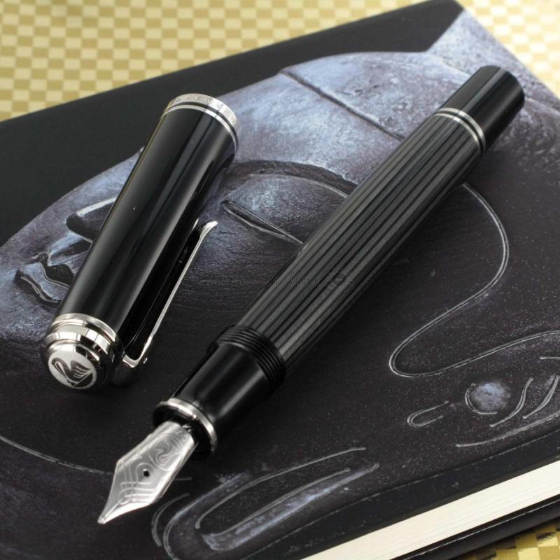 stylo plume p likan noir souverain 805 stresemann sur. Black Bedroom Furniture Sets. Home Design Ideas