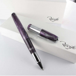 Stylo e-Roller Recife® Amber Press Slim Violet