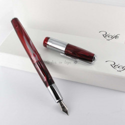 Stylo Plume Recife® Amber Press Slim Rouge