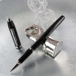 Stylo Roller Cross® Century II Précieux Laque Noire & Rhodium