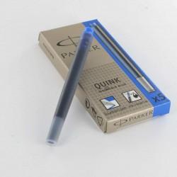 Lot de 5 - Boites de 5 Cartouches Bleues effaçables Parker® Quink