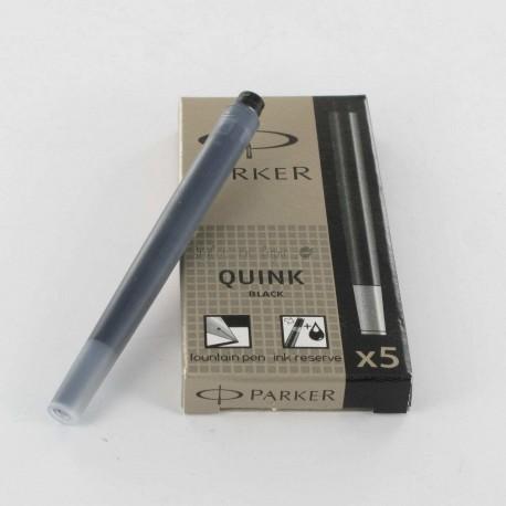 Cartouches Noires Parker Quink- Boite de 5
