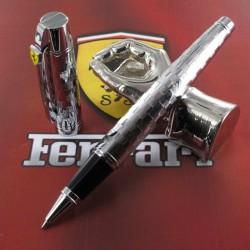 Stylo Roller Sheaffer® Ferrari® Série 300  Chrome Damier