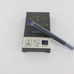 Cartouches Bleues-Noires Longues Boite de 5 Parker® Quink