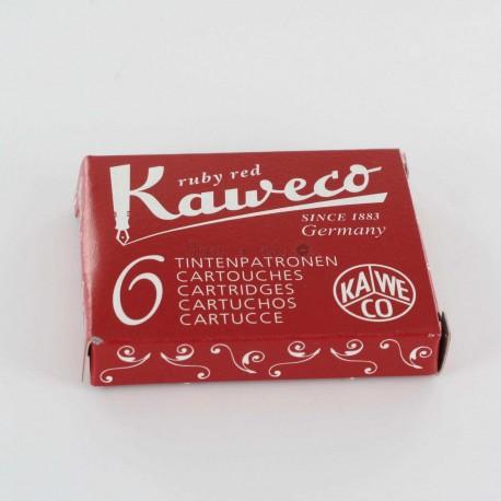 Cartouches KAWECO® Ruby Red - Boite de 6