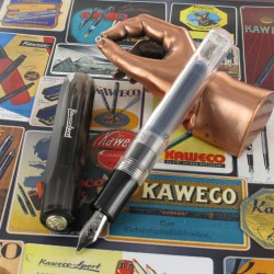 Stylo Plume Kaweco® Ice Sport Noir Translucide