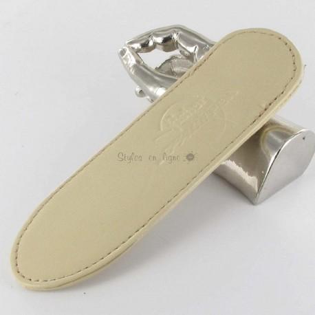 Petit Fourreau cuir Fisher Space Pen® Beige (1 Stylo)