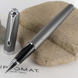 Stylo Roller Diplomat® Excellence A Venezia Platine Chrome