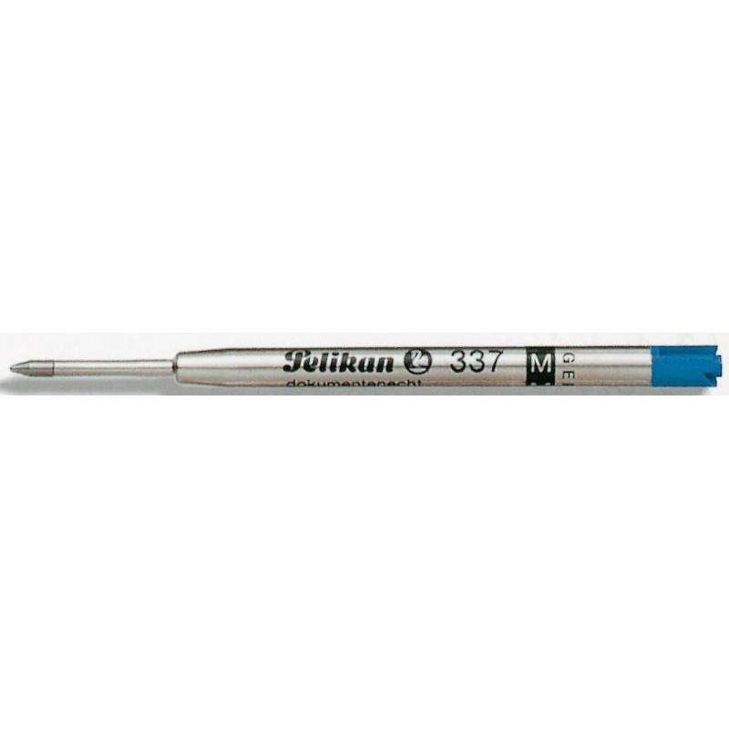 """Recharge BILLE BLEUE (épaisseur 1 mm : moyenne) PELIKAN """"337 M"""""""