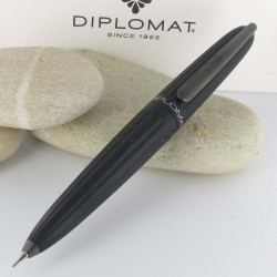 Stylo Portemine 0,7 mm Diplomat® AERO Noir