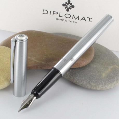 Stylo Plume Diplomat® Esteem Mat Chrome