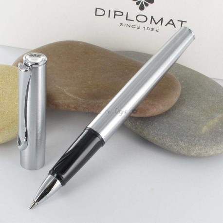 Stylo Roller Diplomat® Esteem Mat Chrome