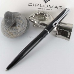 Stylo Bille Diplomat® Traveller Noir Laqué