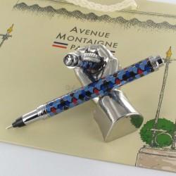 """Stylo Feutre 1mm Avenue Montaigne® """"Trocadéro"""" Bleu/Violet"""