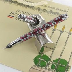 """Stylo Feutre 1,2mm Avenue Montaigne® """"Trocadéro"""" Rose/Violet"""