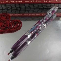 """Stylo Bille Avenue Montaigne® """"Terrasse"""" Violet"""