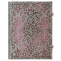 Carnet Paperblanks® Filigrane Argenté Rosa Ultra Ligné