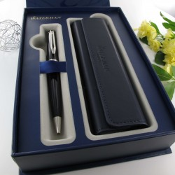 Coffret Stylo Bille WATERMAN® Expert Laque noire CT & Etui Waterman®