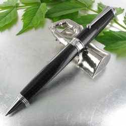 Stylo Bille Monteverde® Invincia® Deluxe Carbone Chrome