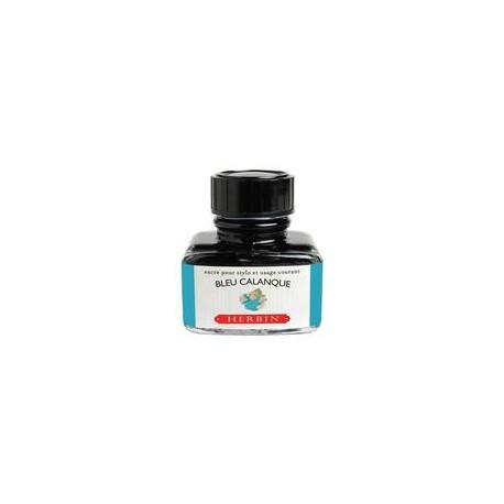 Flacon d'encre Bleu Calanque 30 ml J. Herbin®