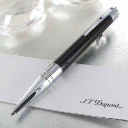 Stylo Bille ST Dupont® D-Initial Noir Brillant