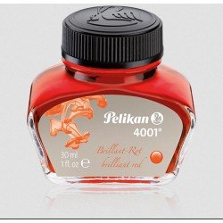 Flacon d'encre Rouge Brillante 30 ml Pélikan®