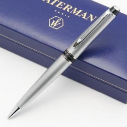 Stylo Bille WATERMAN® Expert Chromé Satiné CT