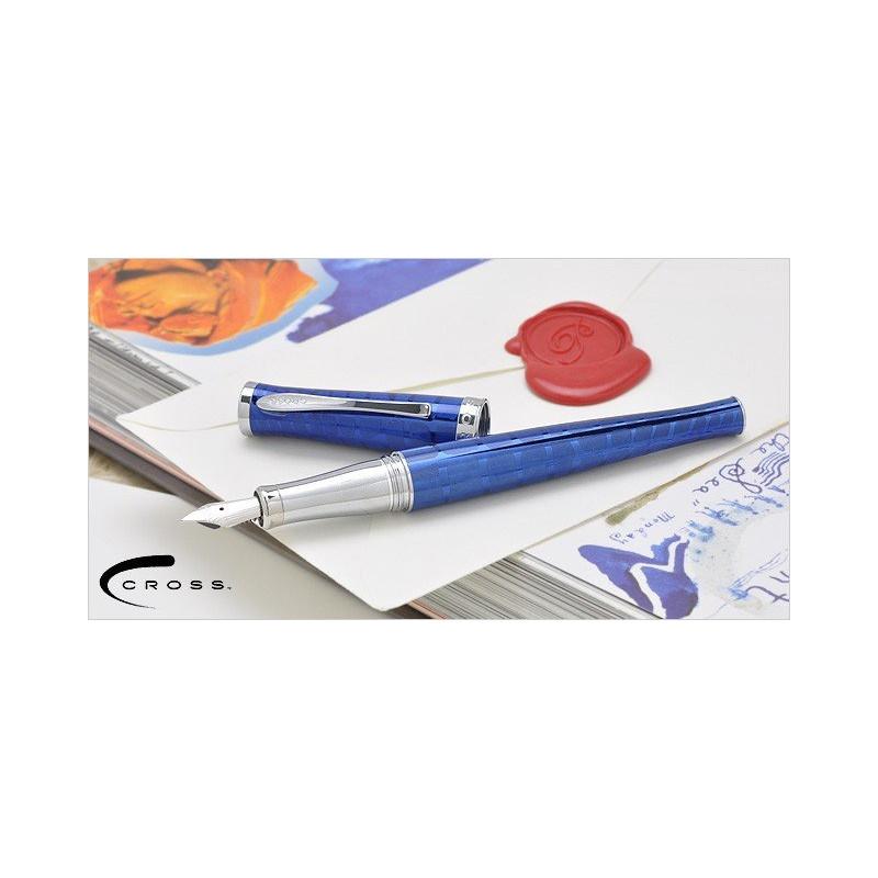 Stylo Plume Cross® Sauvage Bleu Azurite