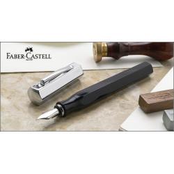 "Stylo Plume Faber-Castell® ""Ondoro"" Noire Graphite"