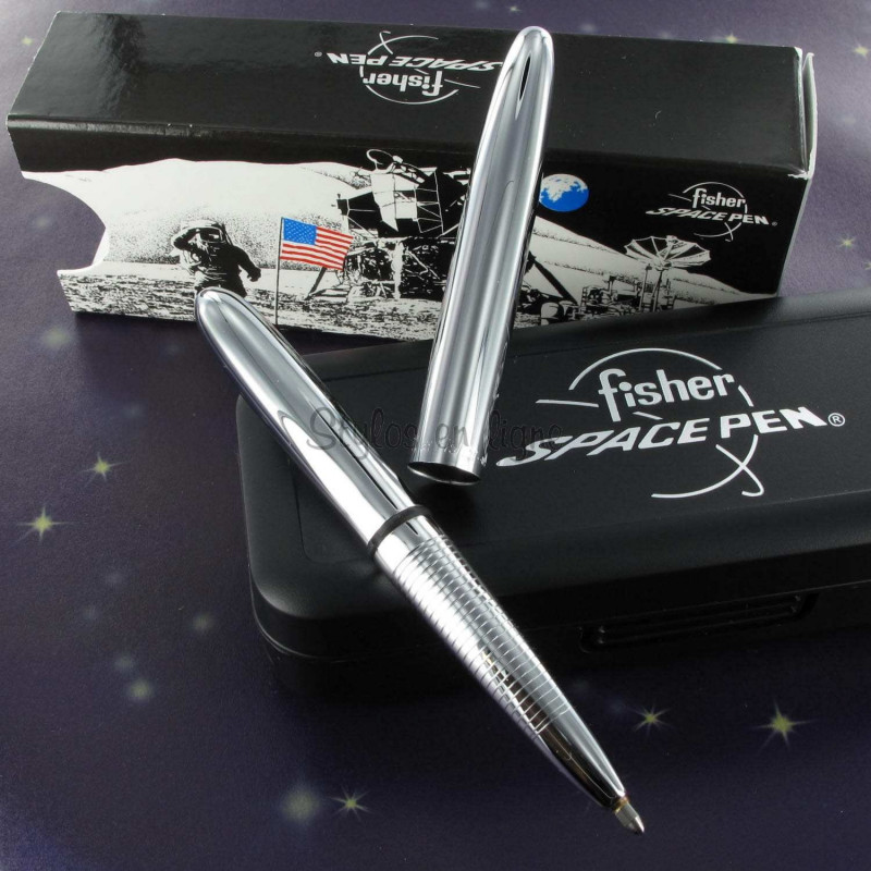 Stylo Bille Pocket Fisher Space Pen® Chromé