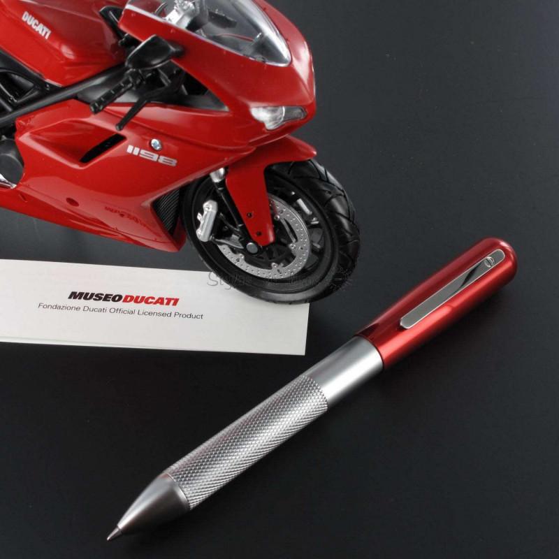 Stylo Bille Multi Fonctions 3+2 Alu & Rouge Ducati®