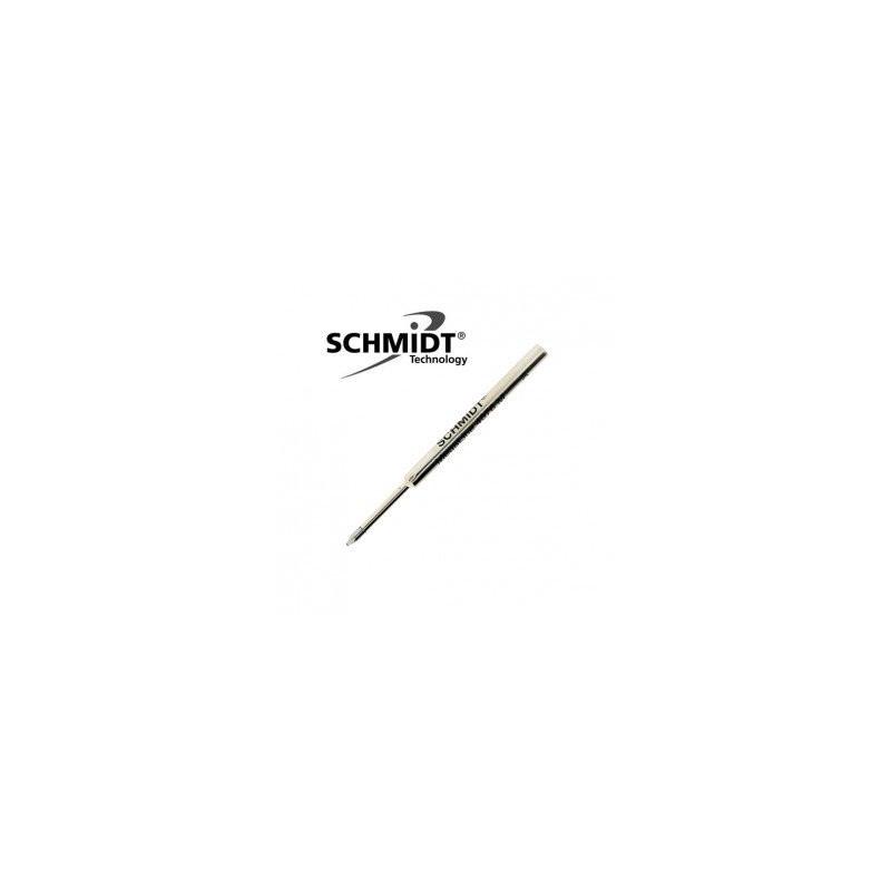 Recharge Bille Schmidt® 4876 pressurisée courte Bleue